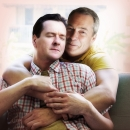 George Osborne and Nigel Farage enjoy a tender moment. One of a series of Photoshop jobs imagining potential political romances.