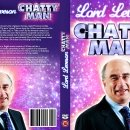 Lord Levenson Chatty Man DVD Cover. Used In Charlie Brooker's piece about the coverage of the Levenson Inquiry.