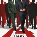 Ocean's 14 poster starring George Clooney and Ugandan warlord Joseph Kony. Used in Charlie Brooker's piece about the Stop Kony viral campaign that was launched in 2012.